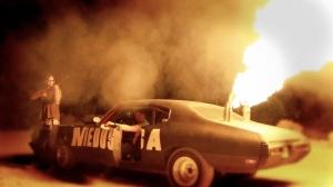 Bellflower_flame thrower at night